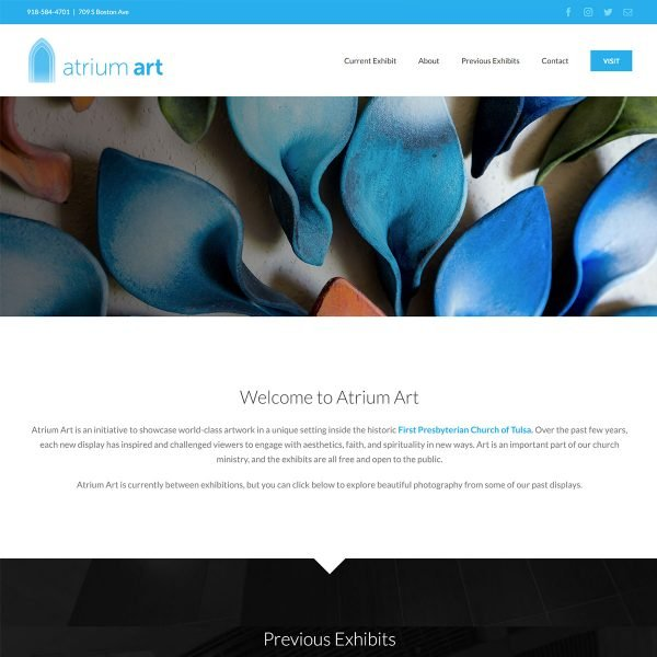 Atrium-Art-Website