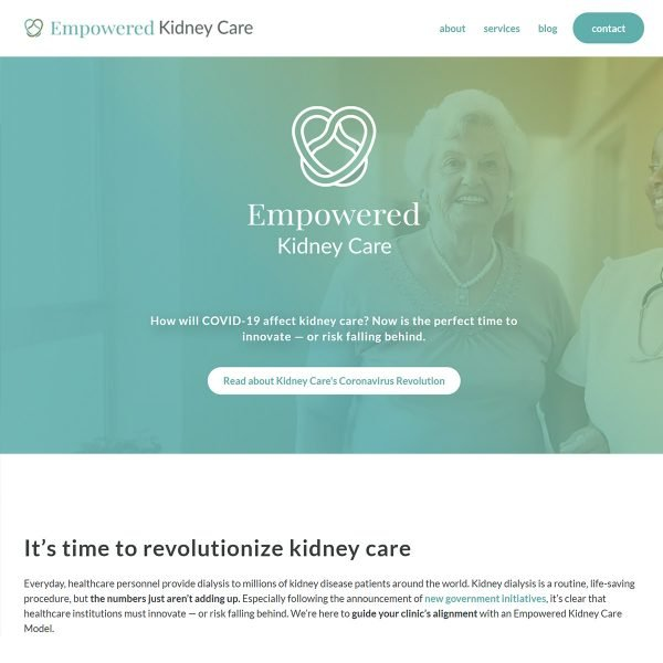 Empowered-Kidney-Care-Website