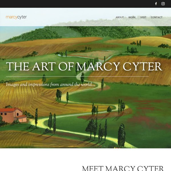 Marcy-Cyter-Website