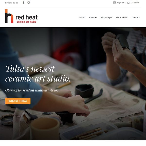 Red-Heat-Website