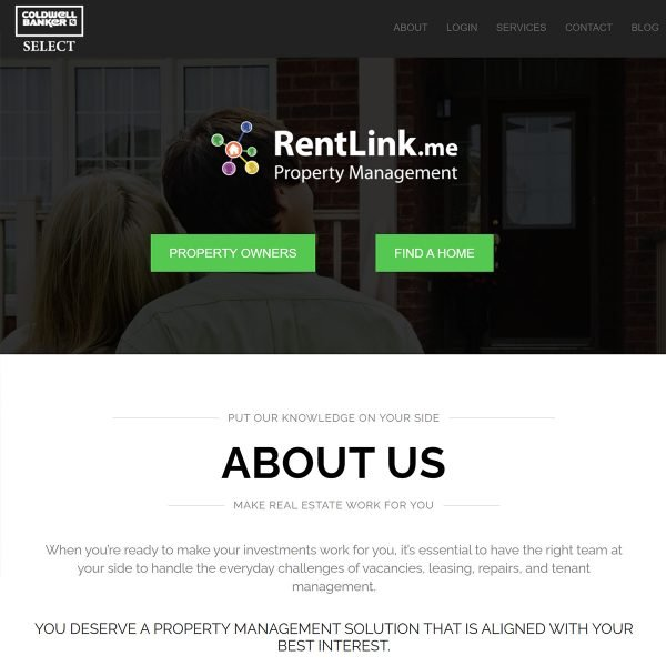 Rentlink-Website