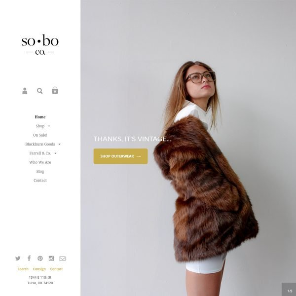 SoBo-Shopify-Website